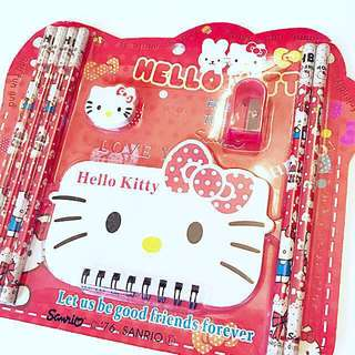 [New] Hello Kitty Stationery Set (Red)