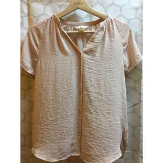 H&M blouse (Dusty pink)