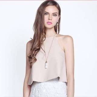 Looking for Fayth Ivanka Top in Nude