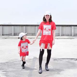 Couple shirt dress mom n kids