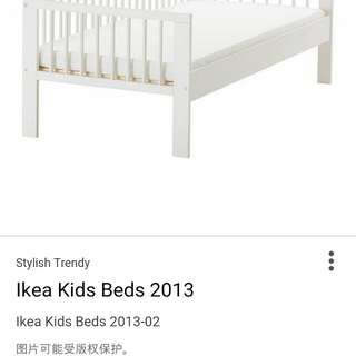 Ikea children bed frame for sale
