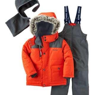 Brand new oshkosh b'gosh 2-piece snowsuit