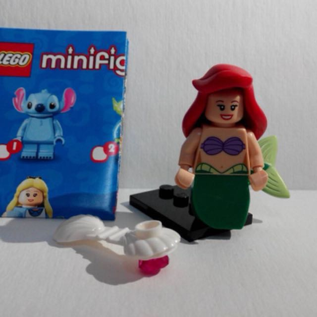 小美人魚正版樂高人偶