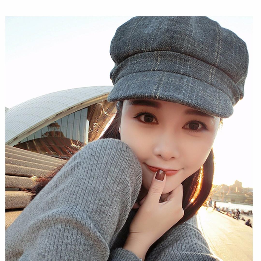 (❄)秋冬英倫貝雷帽