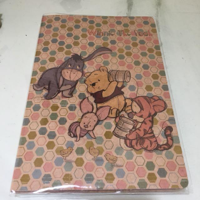 維尼好可愛筆記本