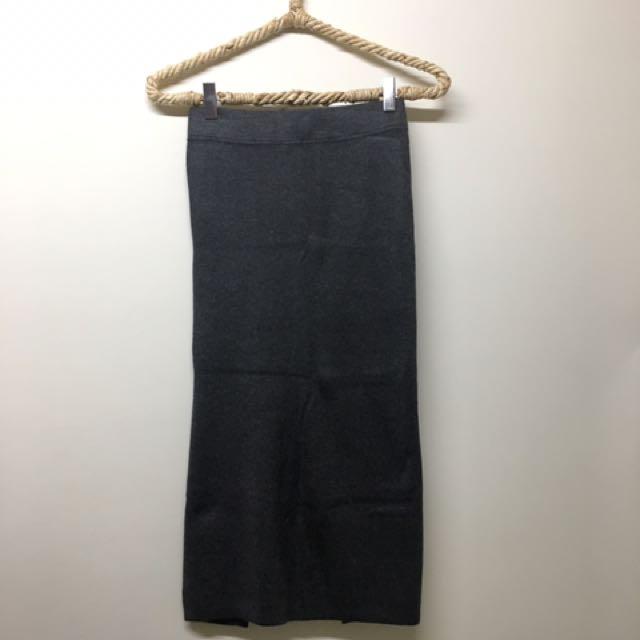 針織鉛筆裙