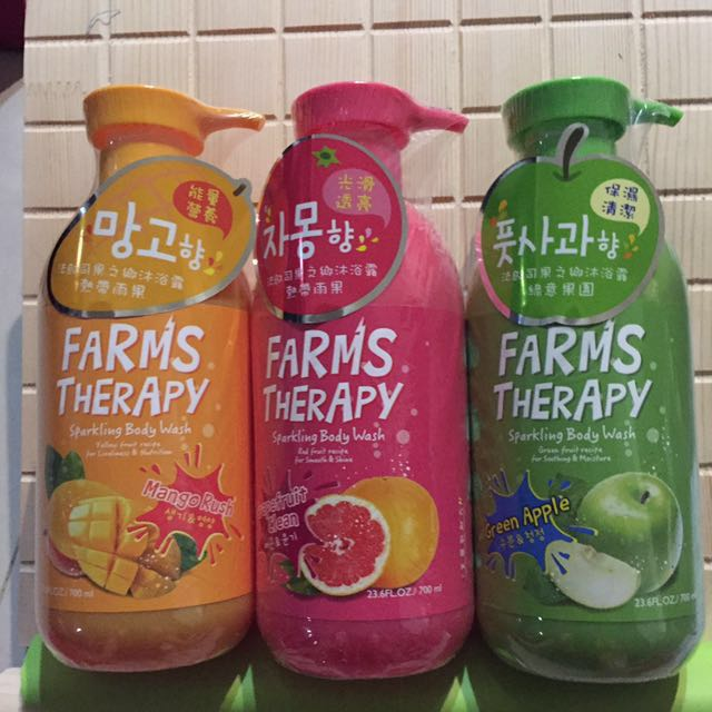韓國沐浴乳