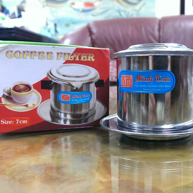 全新@東南亞傳統泡咖啡掛壺濾器
