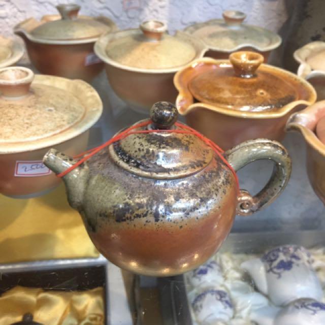 鶯歌陶瓷茶壺(柴燒)