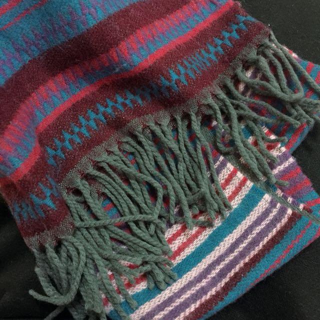 粉色圍巾 圍巾