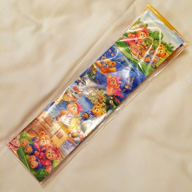 迪士尼 達菲熊 便條紙