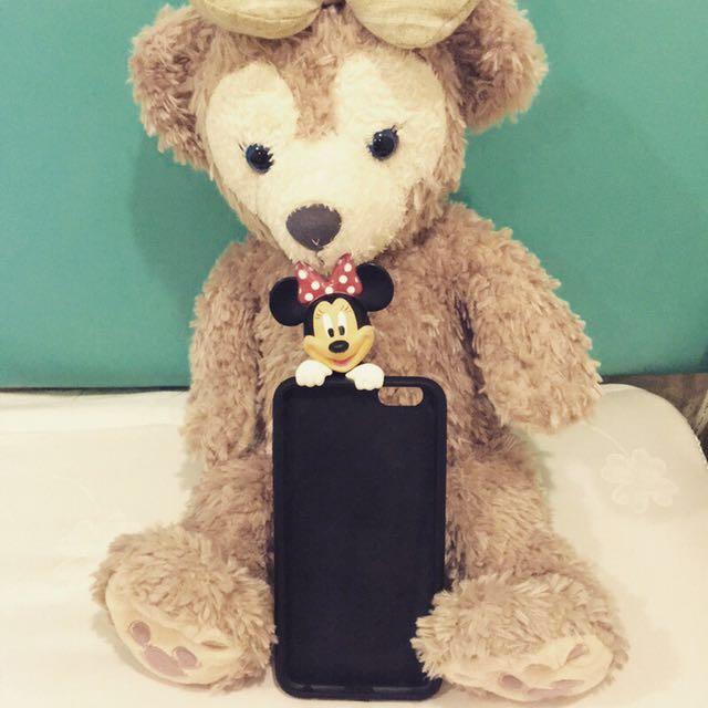 迪士尼/米奇米妮立體手機殼 iphone6plus 5.5吋