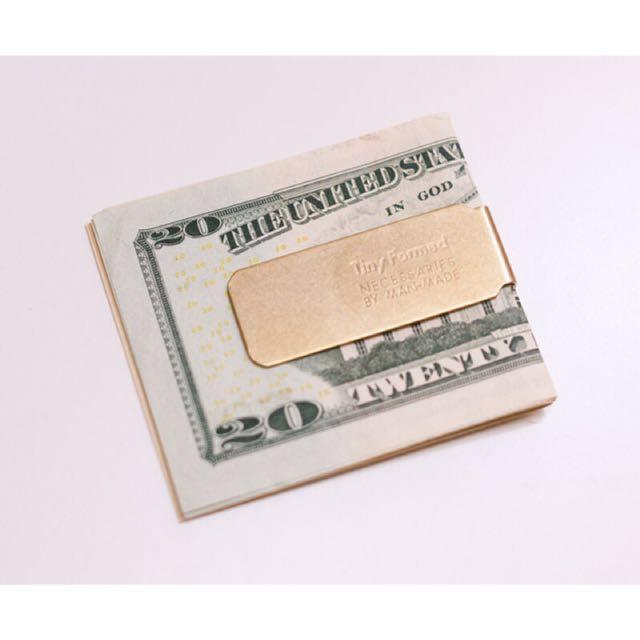 日本 Tiny Formed 鈔票夾 消光黑 免運