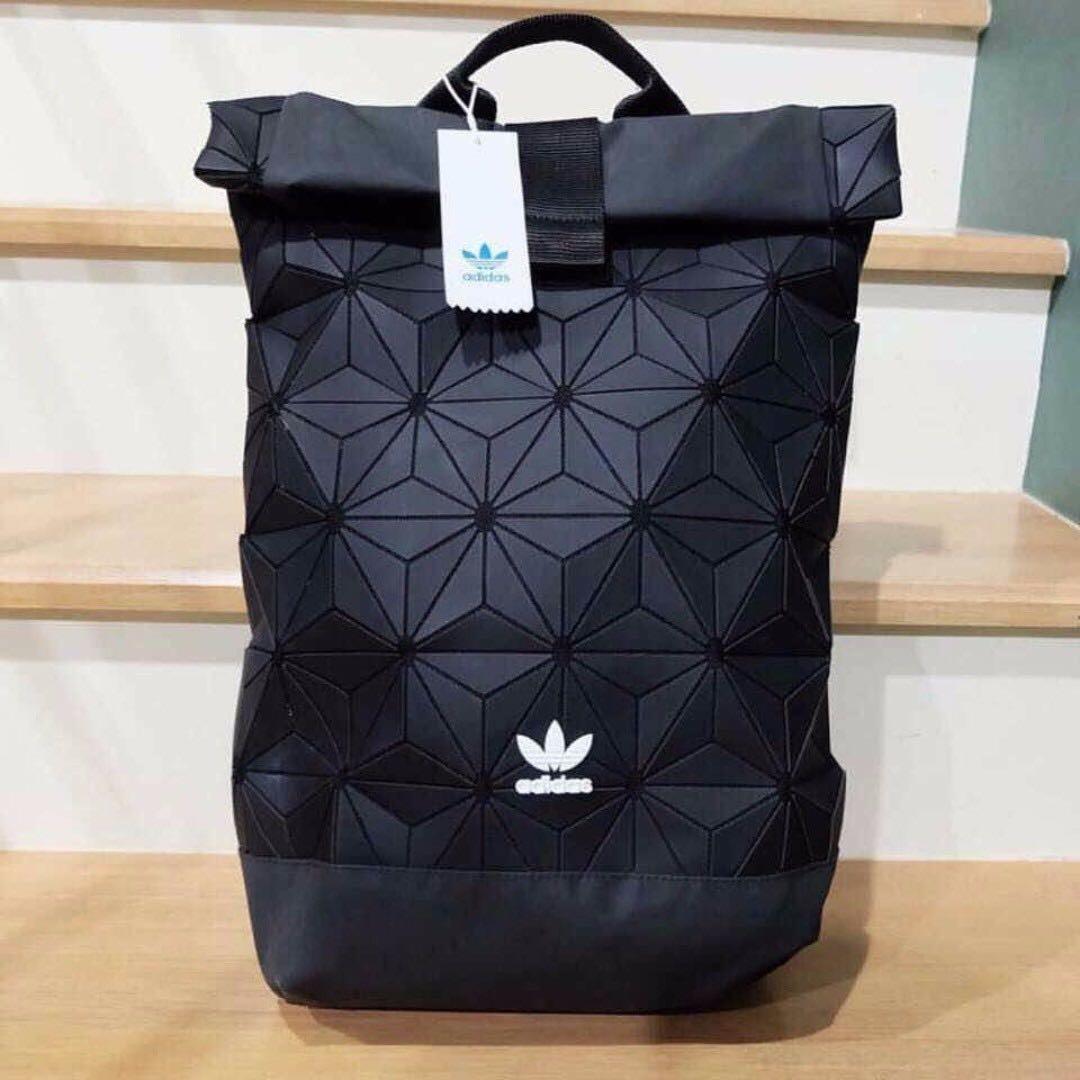 adidas 3d mesh roll up backpack roll top bulletin board. Black Bedroom Furniture Sets. Home Design Ideas