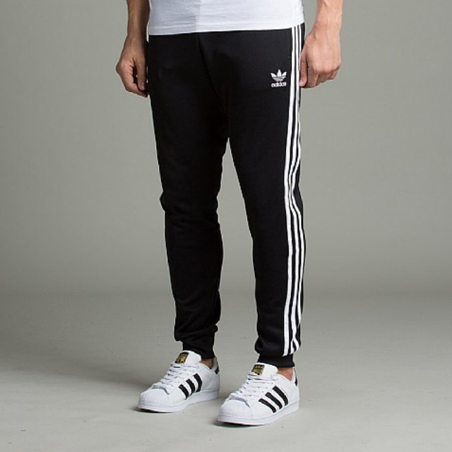buy popular 4cc0b 498a1 Adidas Superstar Cuffed Track Pants, Men s Fashion, Clothes on Carousell