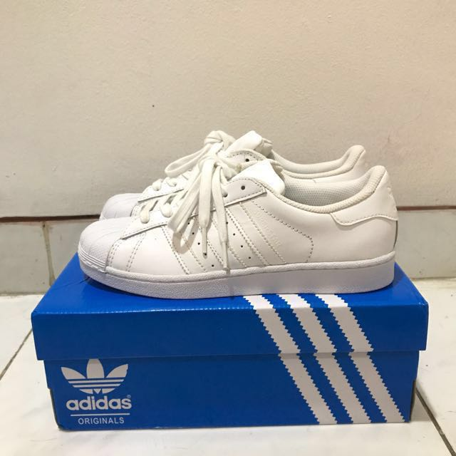 Adidas Superstar Triple White ORIGINAL