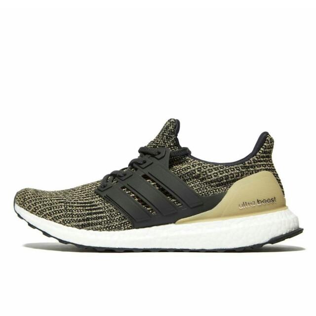 6c692ba813907 Adidas Ultra Boost 4.0 Raw Gold