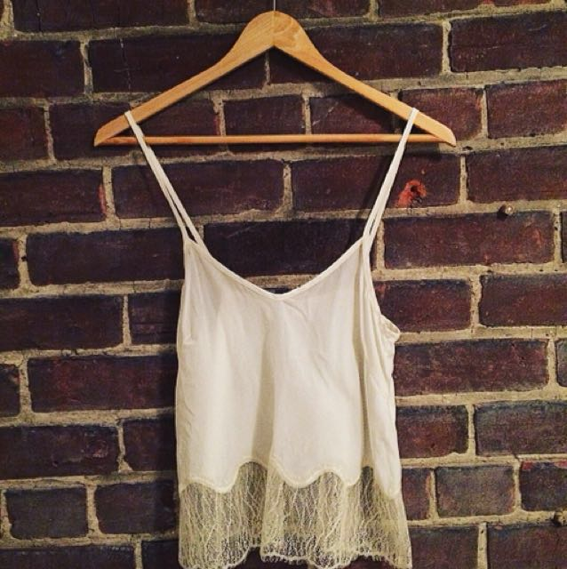 Aritzia Silk camisole