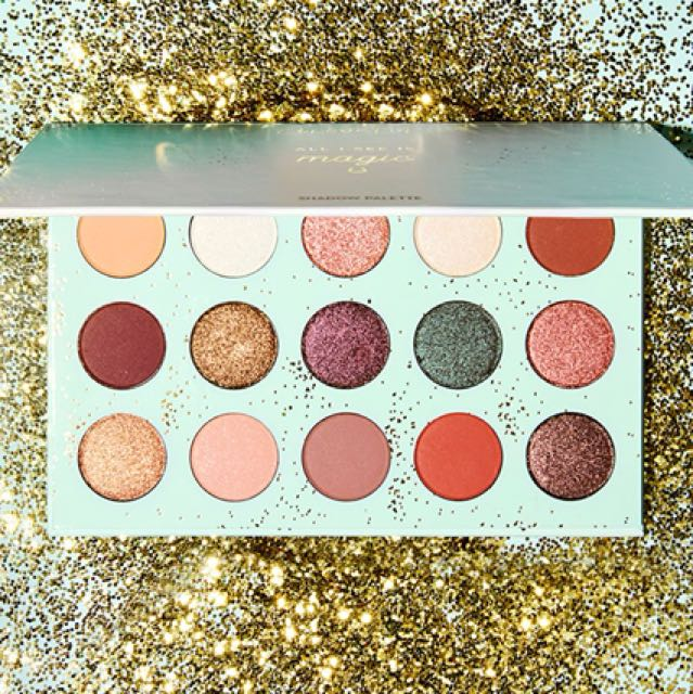Auth colourpop eye palette/ all i see is magic