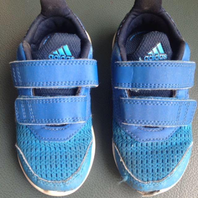Authentic Adidas Hyper Run Shoes Blue Size US7.5 UK7
