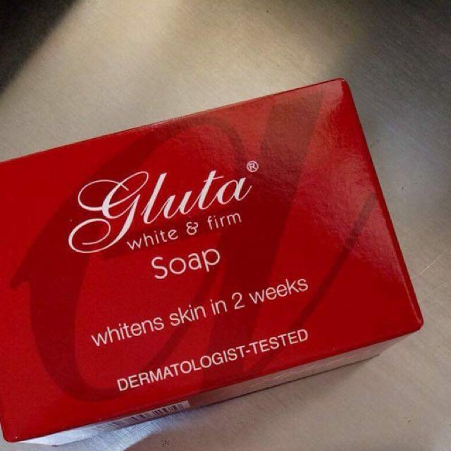 Authentic gluta soap