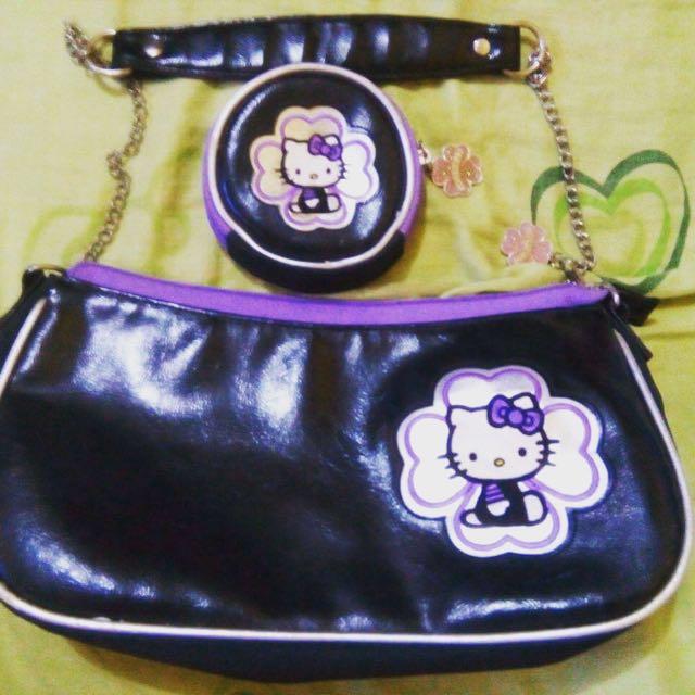 Authentic Hello Kitty Bag Set