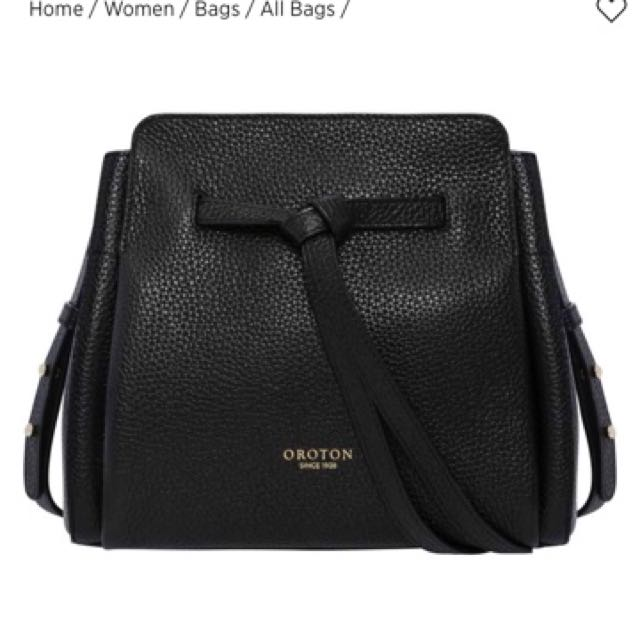 Authentic Oroton Avalon Bucket Bag