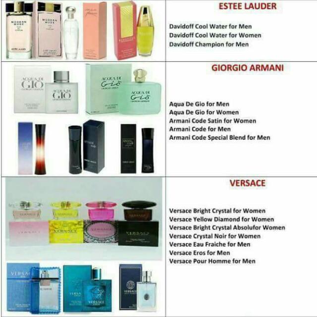 Authentic Perfumes for Men & Women