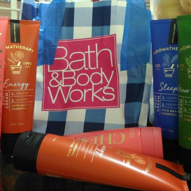 Bath and Body Cream