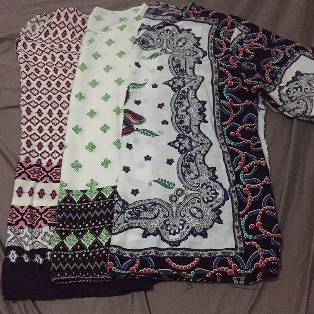 Batique inspired blouses 3 in 1
