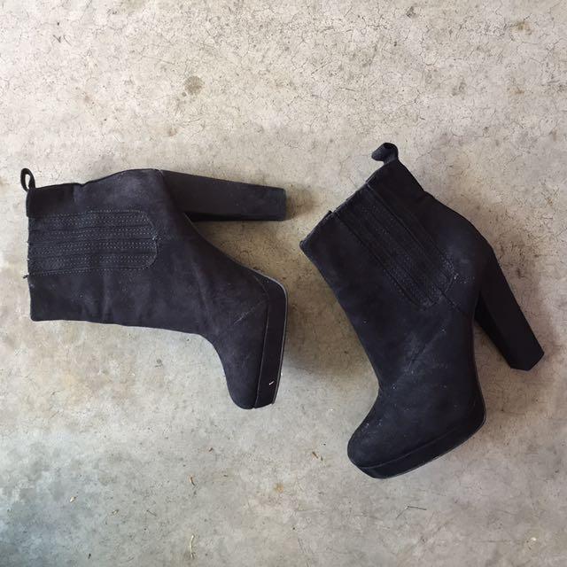 Black boots - HnM