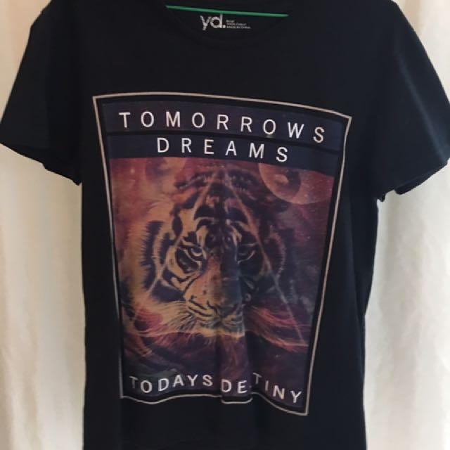 Black inspirational shirt