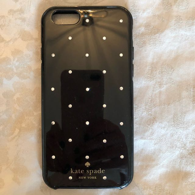 Black with crystals Kate Spade Case 6/6s