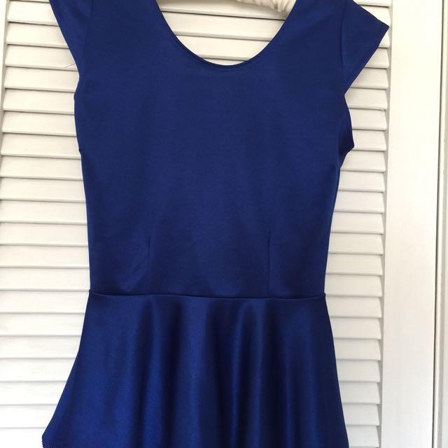 Blouse - navy blue size S