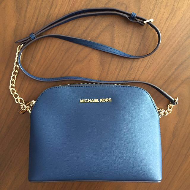 df1b24e1285d9c BRAND NEW Authentic Michael Kors Cindy Large Dome Saffiano Leather ...