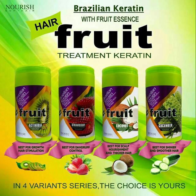 Brazillian keratin with fruit essence