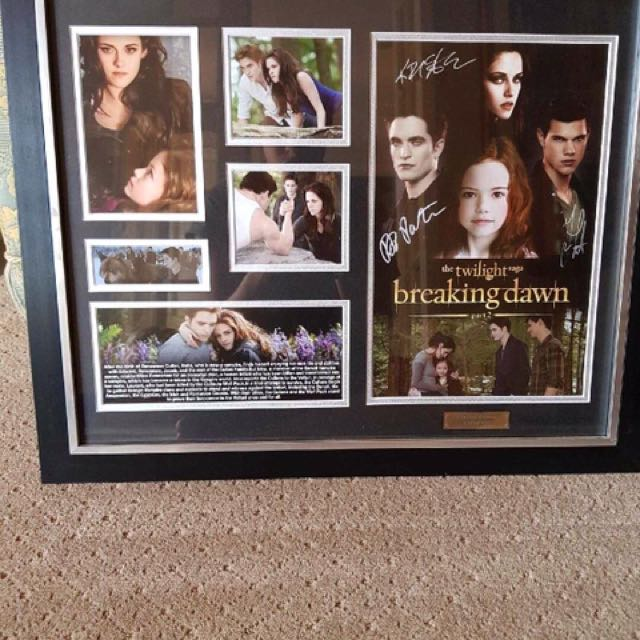 Breaking Dawn (Part 2) collectable movie frame