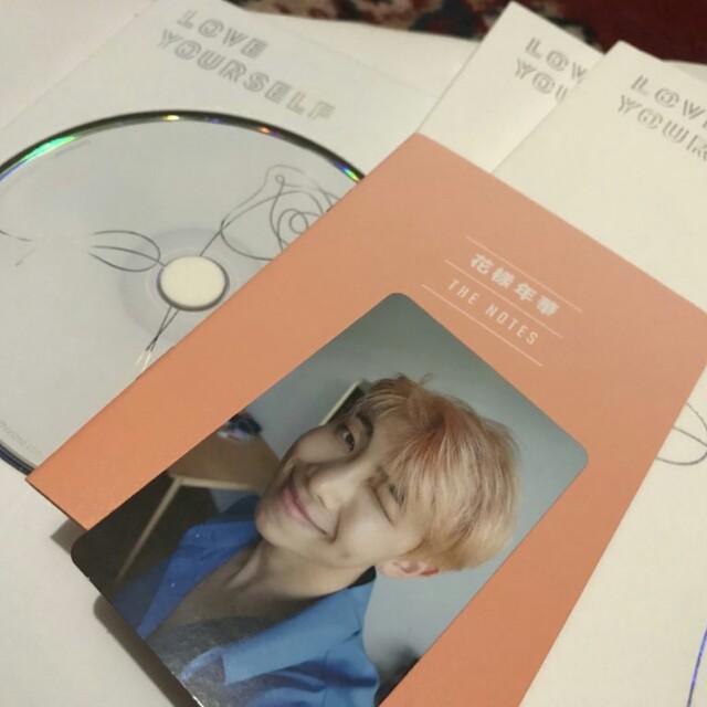 BTS LOVE YOURSELF - HER ALBUM (Rapmon/Namjoon PC) w/ Poster