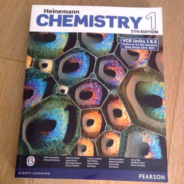 Chemistry 1/2 5th edition heinemann