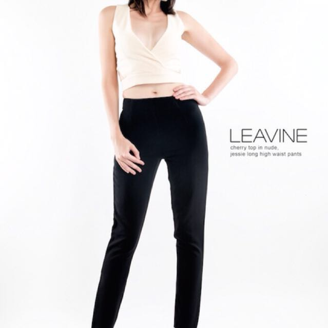 Cherrie Top/Jessie Long High Waist Pants