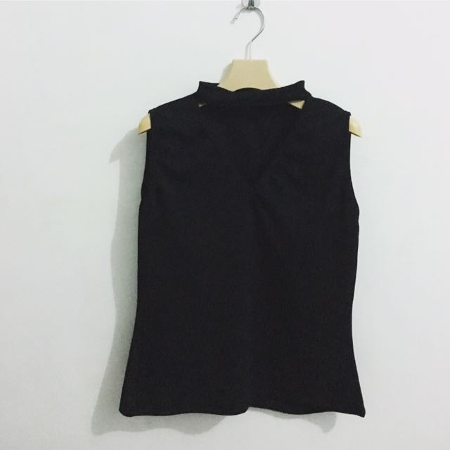 Choker Top Black