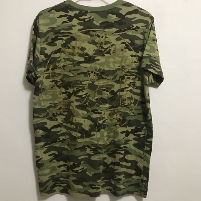 CHROME HEARTS克羅心 迷彩LOGO 限定版 T恤 (保證正品、專櫃購入)