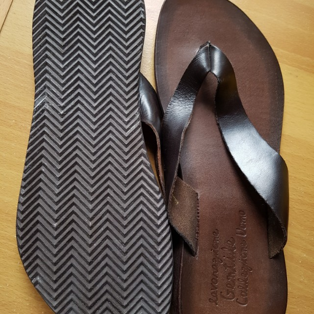 Collezione Men's Leather Sandals