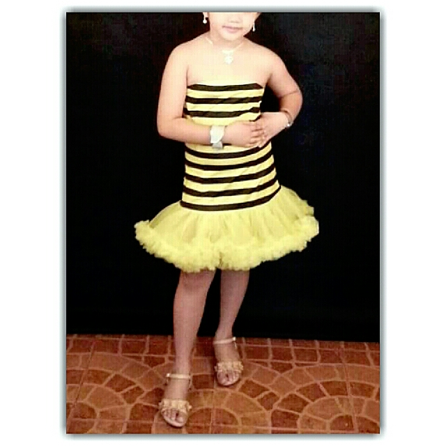 Cutie Bumble Bee Tube Top Tutu Dress (Leg Avenue)