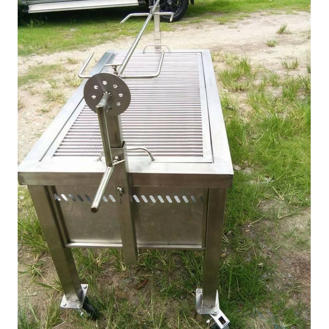 Dapur Kambing Golek Stainless Steel Mudah Dibuka Dipasang Kitchen Liances On Carou