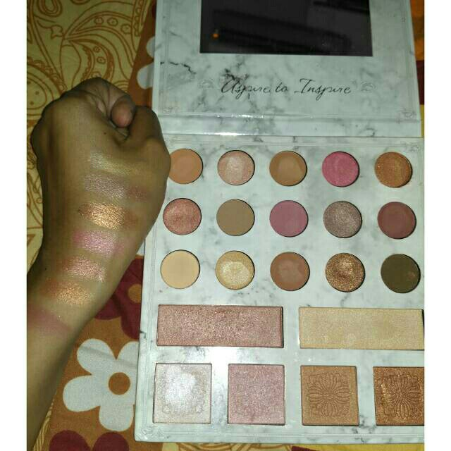 Eyeshadow carly bybel bh cosmetics