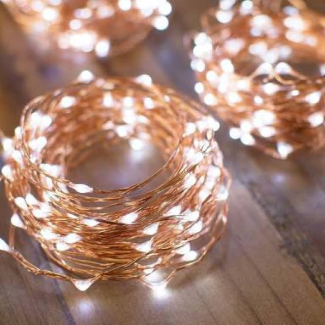 Fairy Lights (warm and cool white)