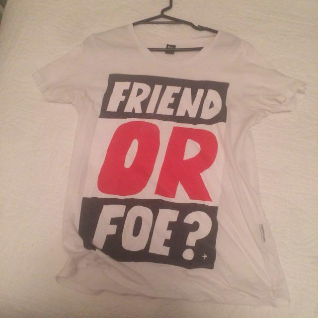 federation 'friend or foe?' tee
