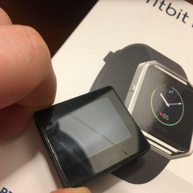 Fitbit Blaze screen