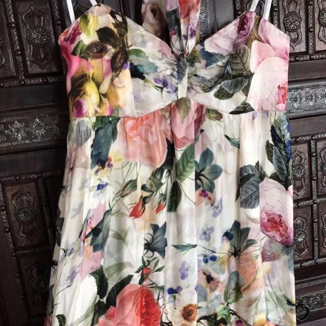 Forever New floral formal dress